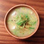 春キャベツのお味噌汁
