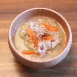 豚肉と白菜とにんじんのお味噌汁