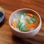 新たまねぎのお味噌汁