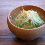 細切り野菜のお味噌汁