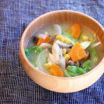 たっぷり野菜のお味噌汁