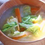 白菜のお味噌汁