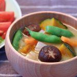 色々野菜のお味噌汁