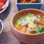 豚肉と白菜のお味噌汁