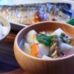 たけのこ芋(京芋)のお味噌汁