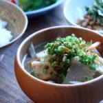 根菜類のお味噌汁