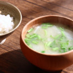 かぶとかぶ菜のお味噌汁