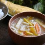 にんじんのお味噌汁