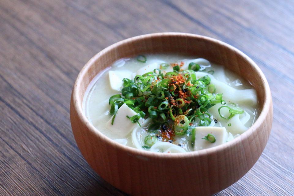 ふしめんと豆腐のお味噌汁
